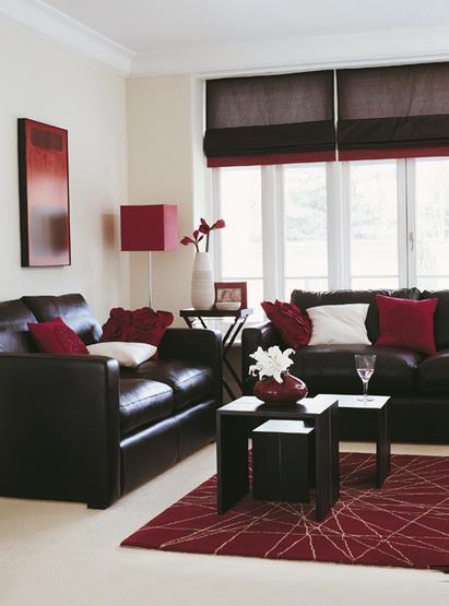canapé rouge et gris...quel couleur le salon? Living12