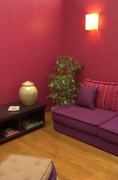 canapé rouge et gris...quel couleur le salon? Loft210
