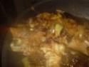 cuisse de dinde cuisiné en sauce.photo. Cuisse15