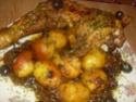 cuisse de dinde cuisiné en sauce.photo. Cuisse17