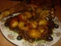 cuisse de dinde cuisiné en sauce.photo. Cuisse18