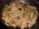 escalopes de jambon aux riz,champignons Escalo11