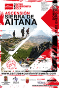 Ascension al pico Aitana 17 Enero 2010 Cartel10