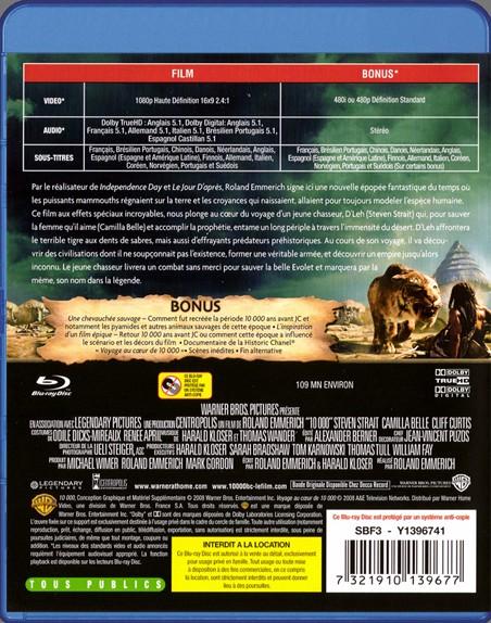 {Blu-Ray} 10000 BC 10000_35