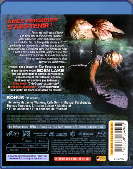 {Blu-Ray} Eden Lake Eden_l10