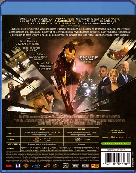 {Blu-Ray} Iron Man Iron_m37