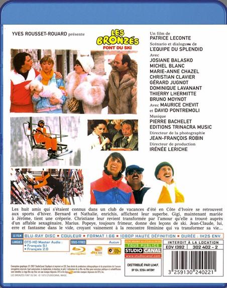 {Blu-Ray} Les Bronzés Font Du Ski Les_br11