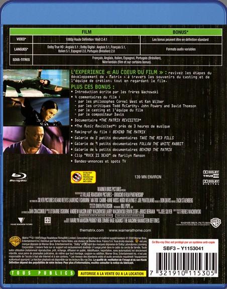 {Blu-Ray} Matrix Matrix34