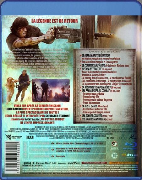 {Blu-Ray} Rambo IV John Rambo Rambo_40