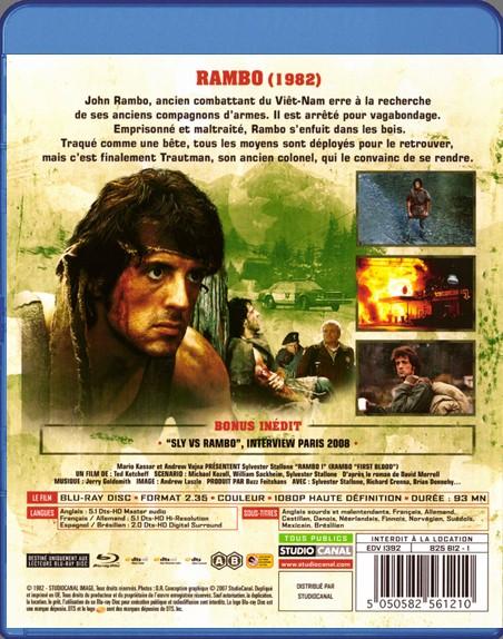 {Blu-Ray} Rambo I Rambo_43