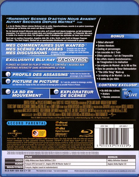 {Blu-Ray} Wanted Wanted31