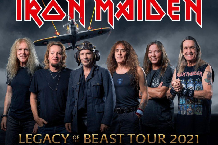 [Report en 2021] IRON MAIDEN • COMMUNIQUE OFFICIEL'Legacy of the Beast' prévu le 11 juillet 2020 à Paris -iron-10