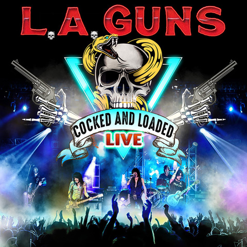 L.A. GUNS (Hard Rock)  Cocked And Loaded Live, le 9 Juillet 2021 0cpomi10