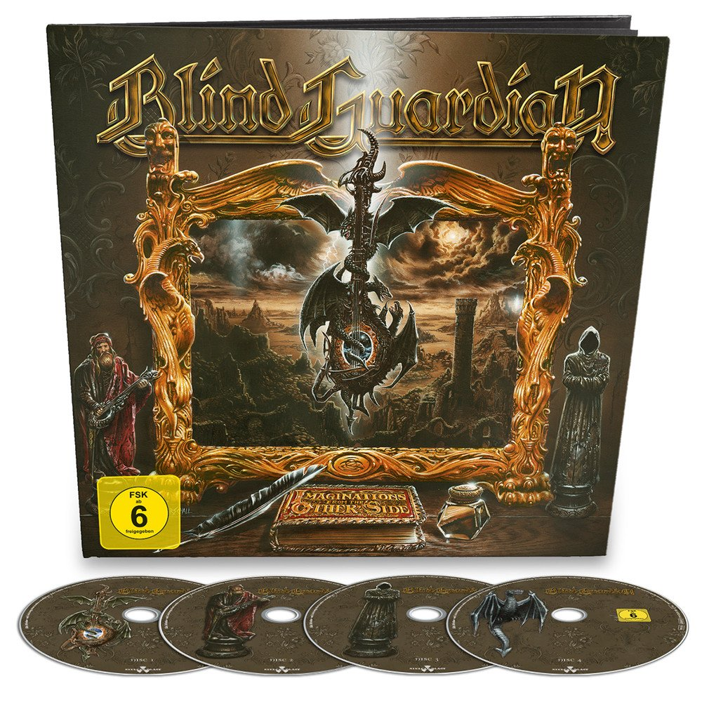 BLIND GUARDIAN Imaginations From The Other Side - 25th Anniversary Edition (EarBook) CD + Blu-ray Disc Soon! 1010