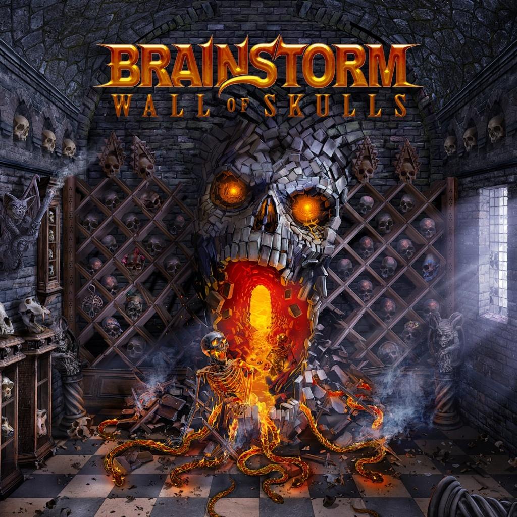 "BRAINSTORM ""Wall Of Skulls"" le 20 août 2021  Aa19"