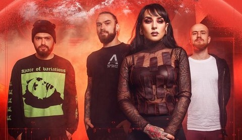 """JINJER """" Alive In Melbourne """"le 20 Novembre 2020 Aaa134"""