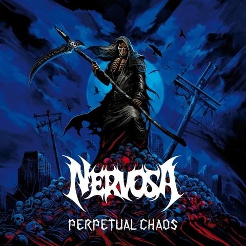 NERVOSA Perpetual Chaos (2021) Thrash Metal Brésil Aaa274