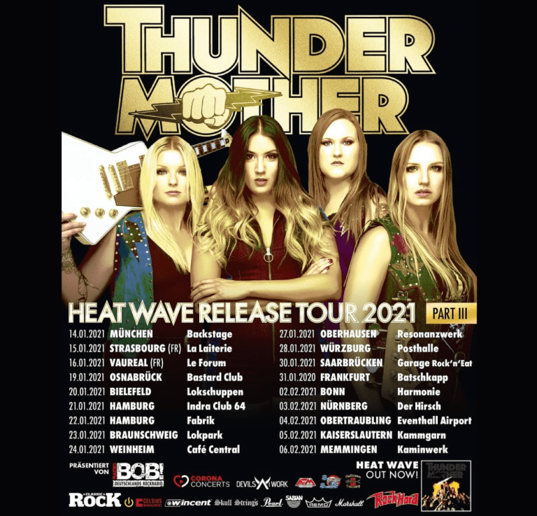 Thundermother – Heat Wave Rease Tour 2021 Aaa29