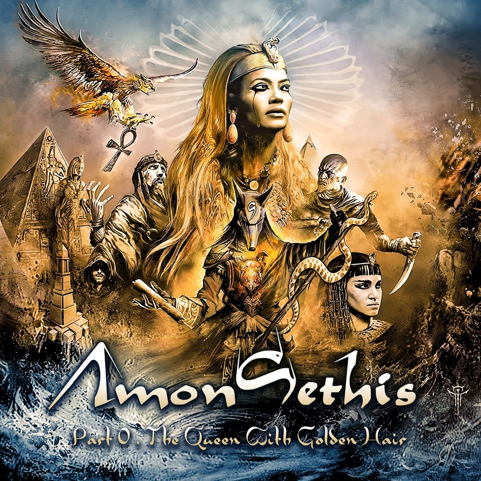 """[Prog] AMON-SETHIS """"Part 0 - The Queen With Golden Hair, """" Aaa34"""