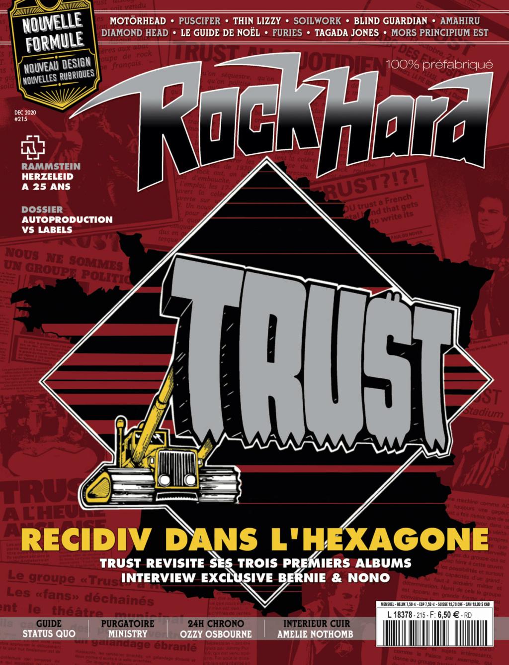 """ROCK HARD #215 """"decembre  2020""""  Aaa449"""