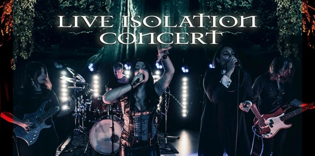 VICTORIA K ( (Symphonic Metal )Live Isolation Concert, le 29 Janvier 2021 DVD  Aaa526