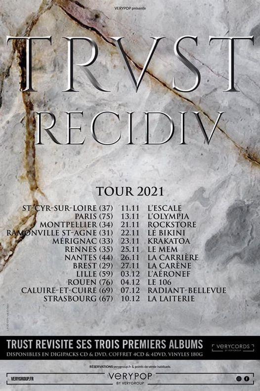 TRUST, RECIDIV Tour Aaa530