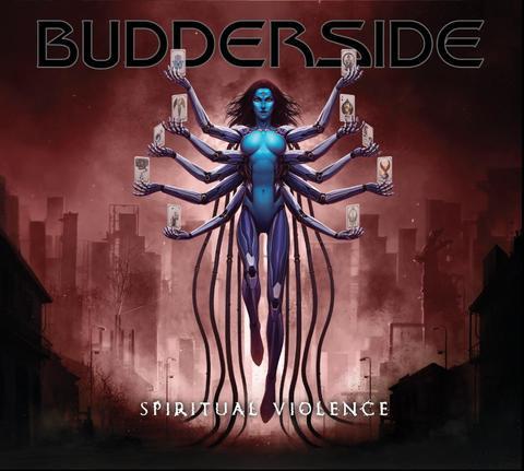 BUDDERSIDE ( Hard Rock)Spiritual Violence, le 26 Mars 2021  Aaa549