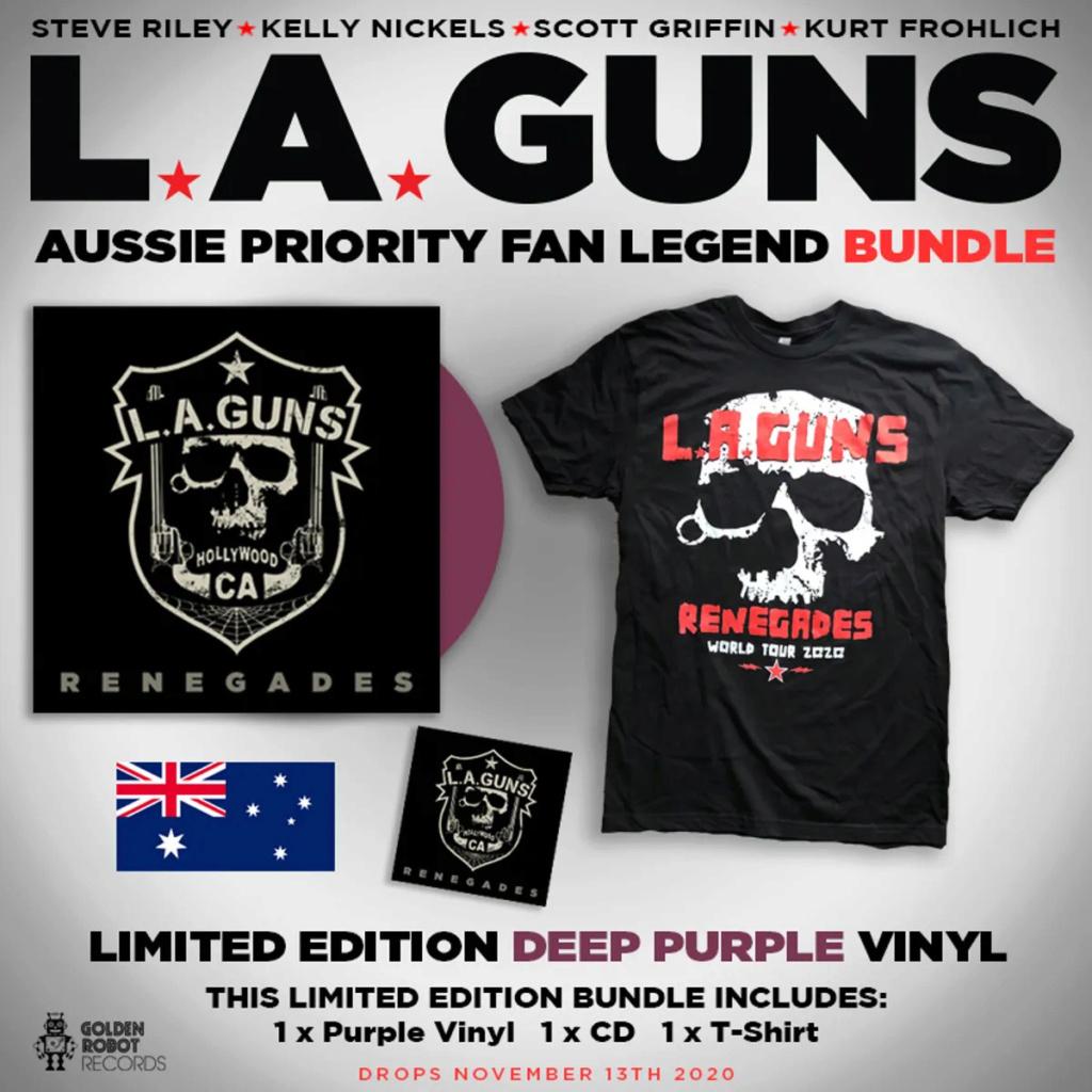 """L.A. GUNS """"Renegades"""" le 13 novembre 2020  Aaa_we11"""