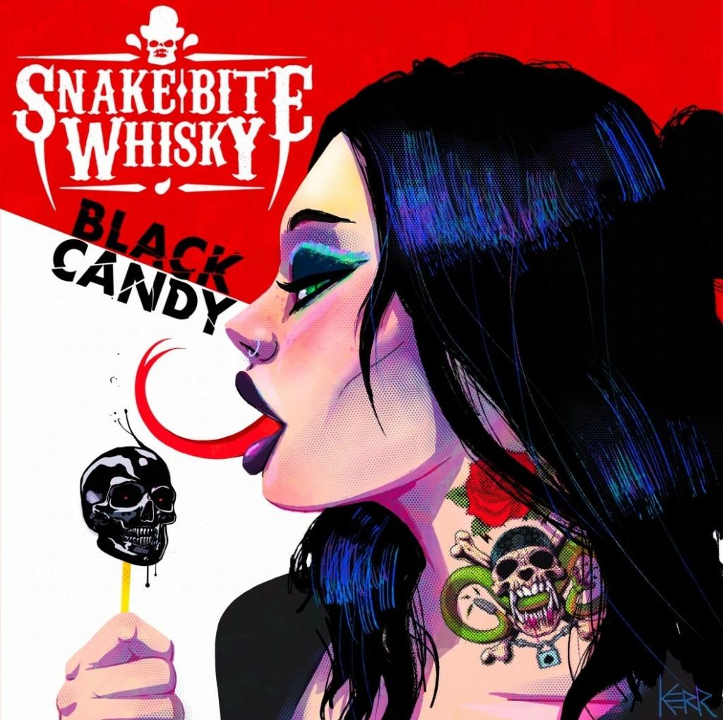 SNAKE BITE WHISKY (Heavy/Sleaze Rock)  Black Candy, le 30 Mars 2021  Aab109