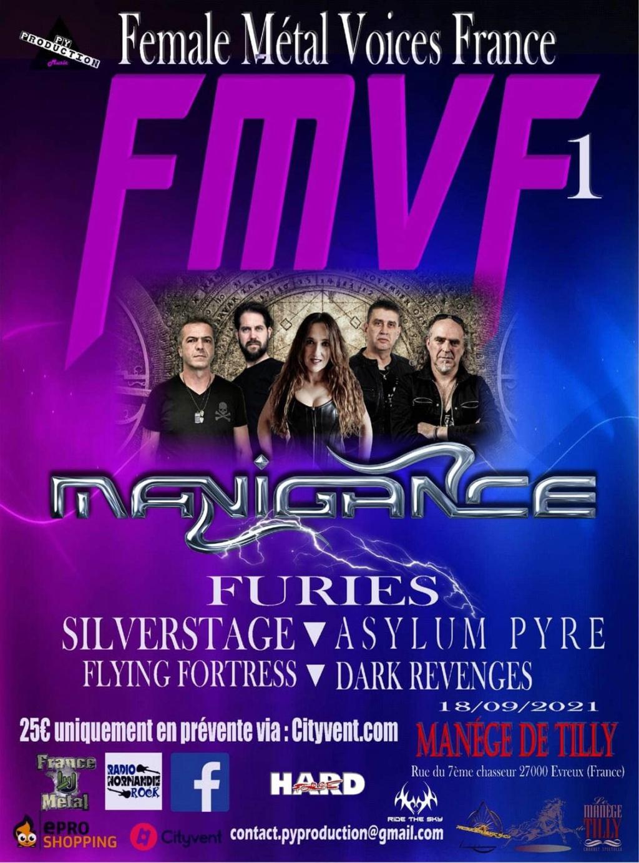 """female Metal Voices France 2021  """" Avec Furies et Dark Revenges ... Aab128"""
