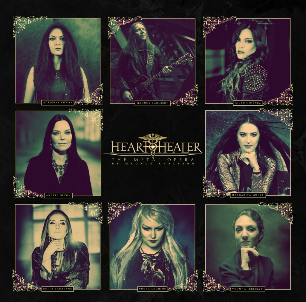 HEART HEALER  The Metal Opera By Magnus Karlsson, le 12 Mars 2021 Aab137