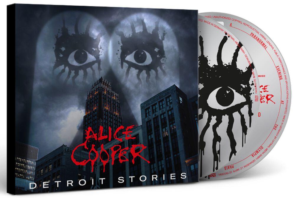 """ALICE COOPER  """" Detroit Stories """"  le 26 février 2021  Aab149"""
