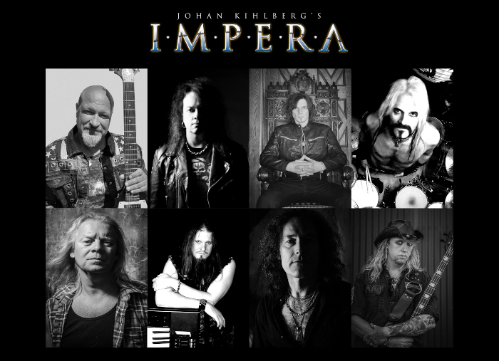 JOHAN KIHLBERG'S IMPERA(Melodic Hard Rock ) Spirit Of Alchemy, le 9 Avril 2021 Aab170