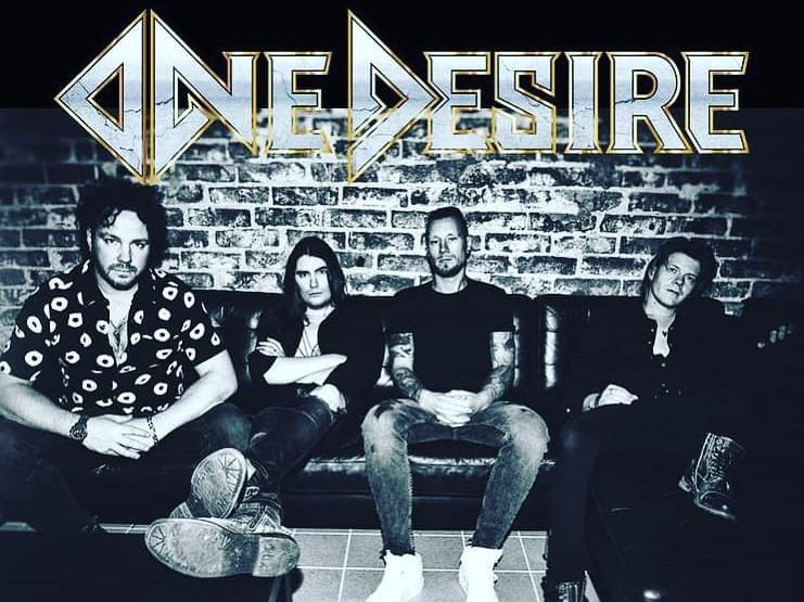 ONE DESIRE  (Melodic Hard Rock)One Night Only - Live In Helsinki, le 11 Juin 2021  Aab185