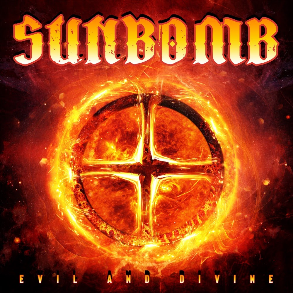 "SUNBOMB ""Evil And Divine"" projet entre Tracii Guns (L.A. GUNS) et Michael Sweet (STRYPER)  Aab186"
