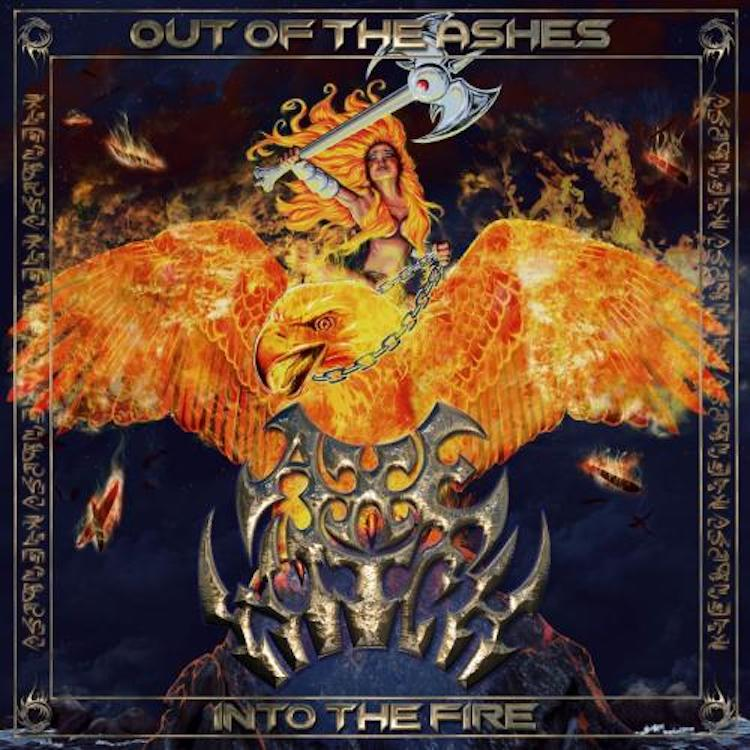 """AXEWITCH """"Out Of The Ashes, Into The Fire"""" le 30 avril 2021 Aab187"""