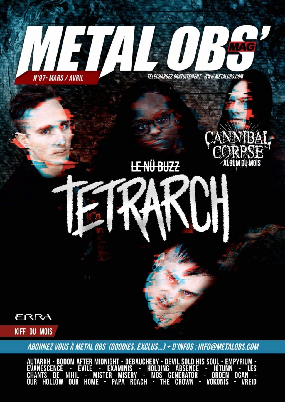 """METAL OBS' #97 """"Mars/Avril 2021"""" Aab220"""