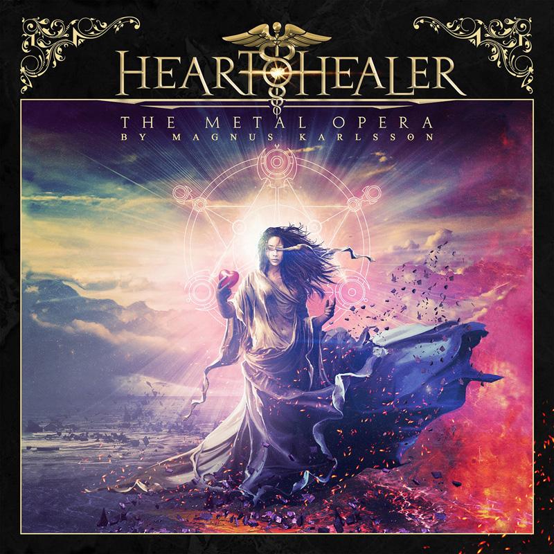 HEART HEALER  The Metal Opera By Magnus Karlsson, le 12 Mars 2021 Aab40