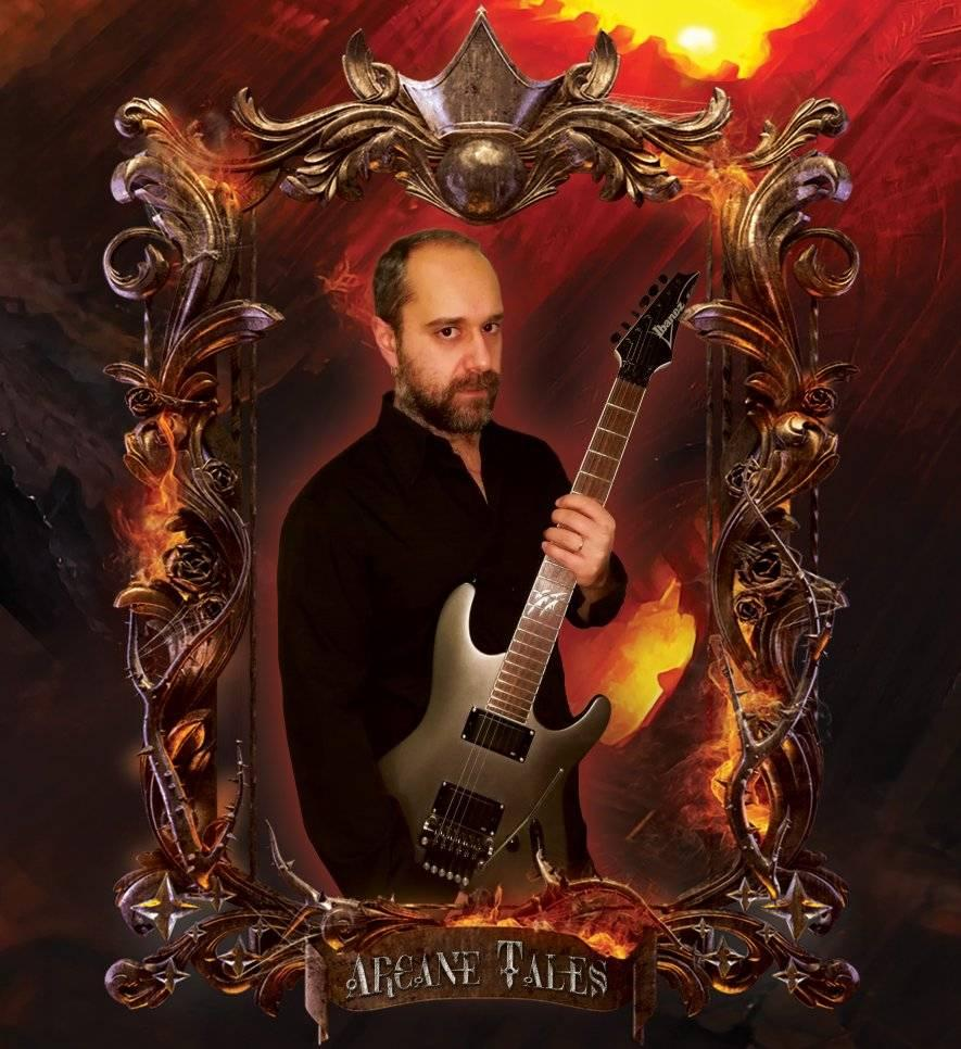 ARCANE TALES  (Symphonic Power Metal) Tales From Shàranworld, le 16 Février  2021 Aab41