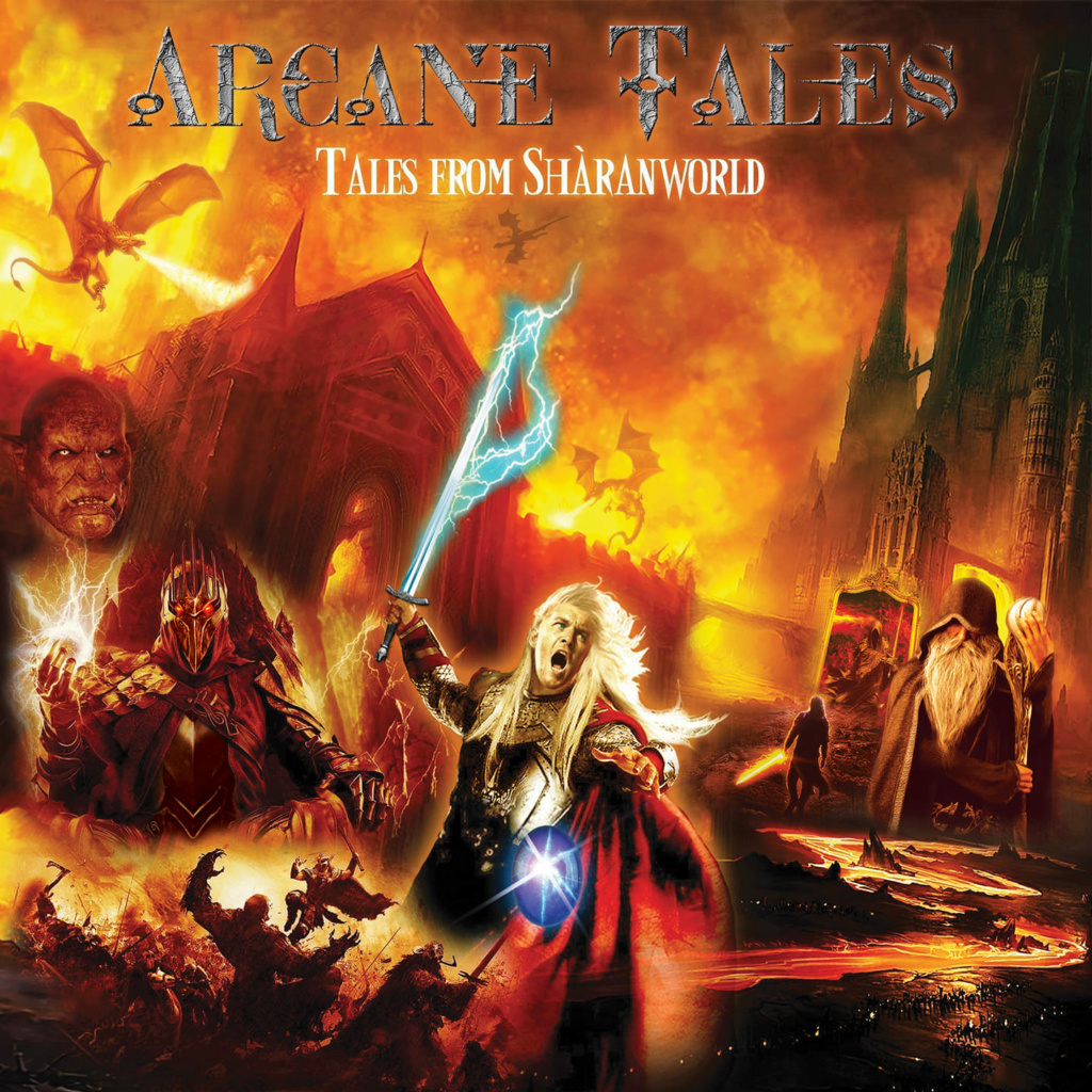 ARCANE TALES  (Symphonic Power Metal) Tales From Shàranworld, le 16 Février  2021 Aab42