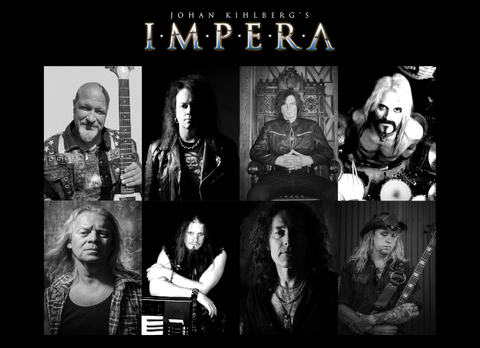 JOHAN KIHLBERG'S IMPERA(Melodic Hard Rock ) Spirit Of Alchemy, le 9 Avril 2021 Aab65
