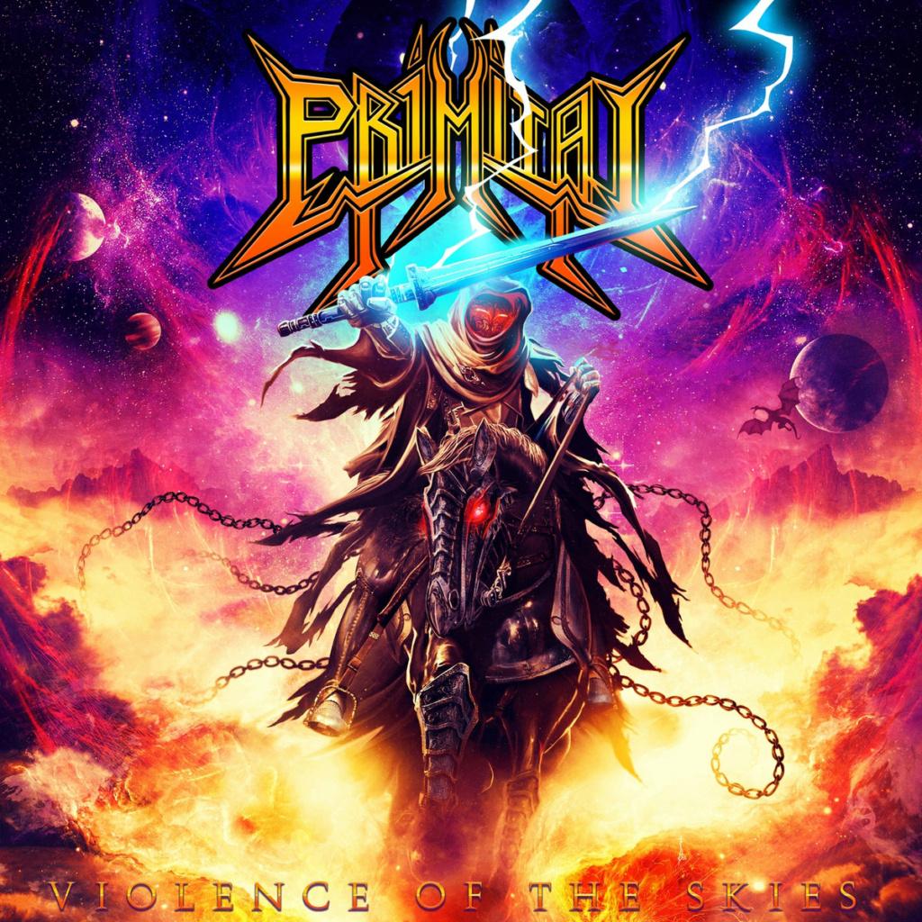 PRIMITAI (Heavy Metal) Violence Of The Skies, à paraître le 26 Mars 2021 Aab68