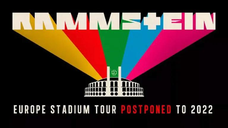 La tournée européenne de Rammstein est reportée à 2022 Aab_we22