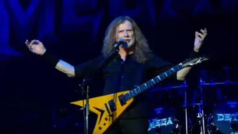 Dave Mustaine de Megadeth dit qu'il ne lui reste qu'une seule .................. Aab_we41