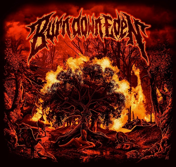 BURN DOWN EDEN (Melodic Death Metal)éponyme, le 26 Mars 2021 Aac12