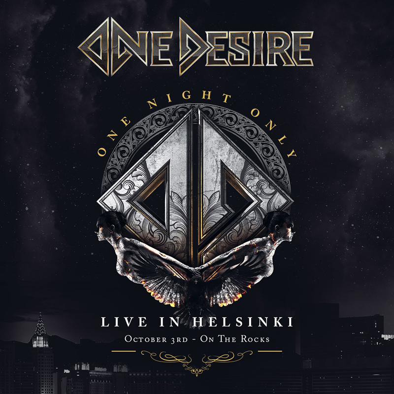 ONE DESIRE  (Melodic Hard Rock)One Night Only - Live In Helsinki, le 11 Juin 2021  Aac37
