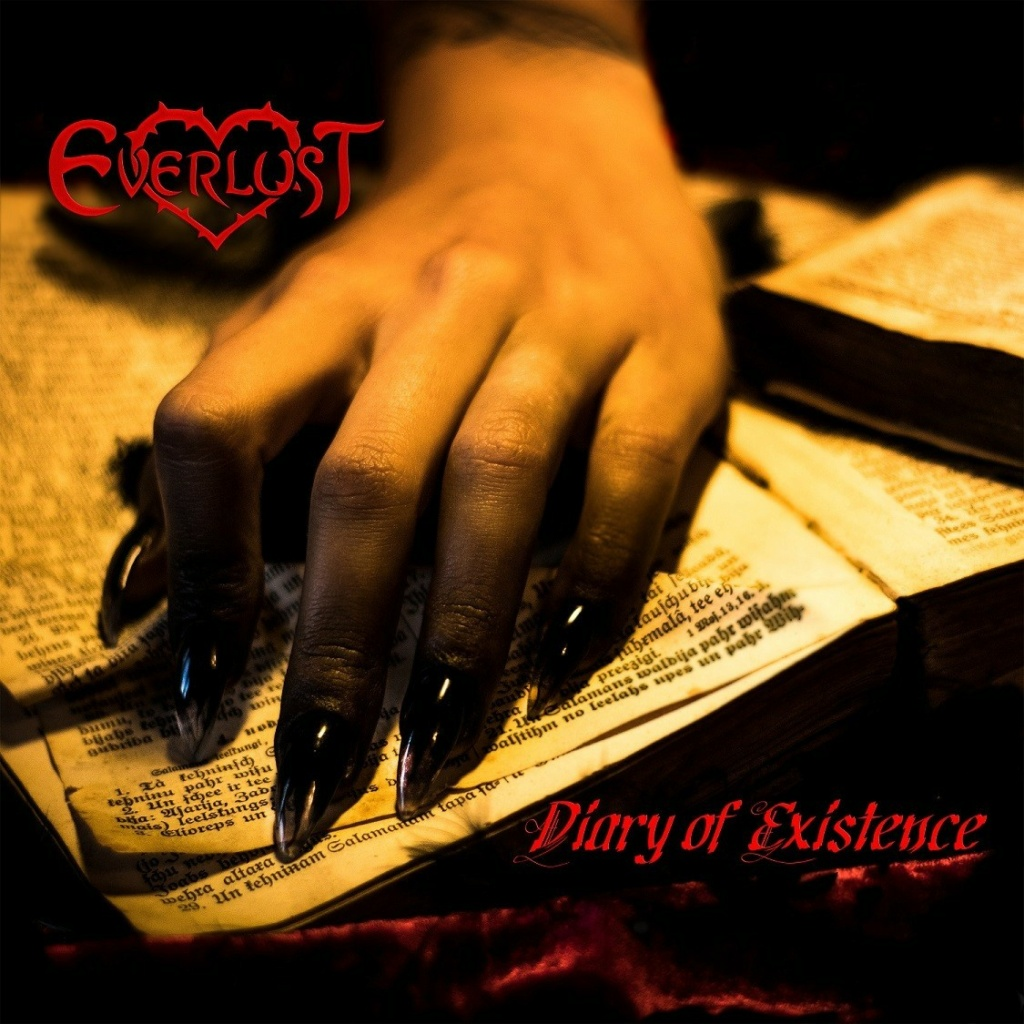 EVERLUST (Gothic Rock / Melodic Metal)Diary Of Existence le 7 Mai 2021 Aac41