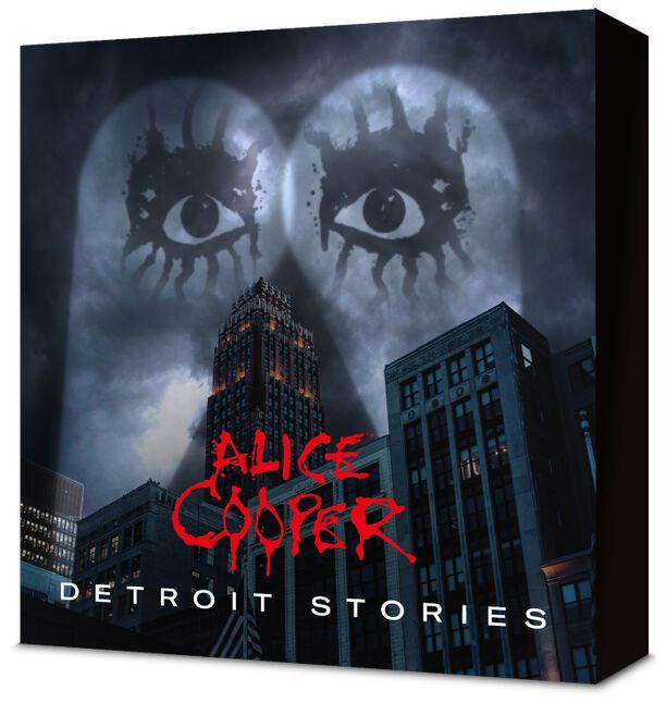 """ALICE COOPER  """" Detroit Stories """"  le 26 février 2021  Ac141"""
