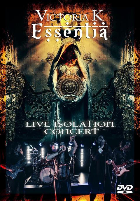 VICTORIA K ( (Symphonic Metal )Live Isolation Concert, le 29 Janvier 2021 DVD  Ac217