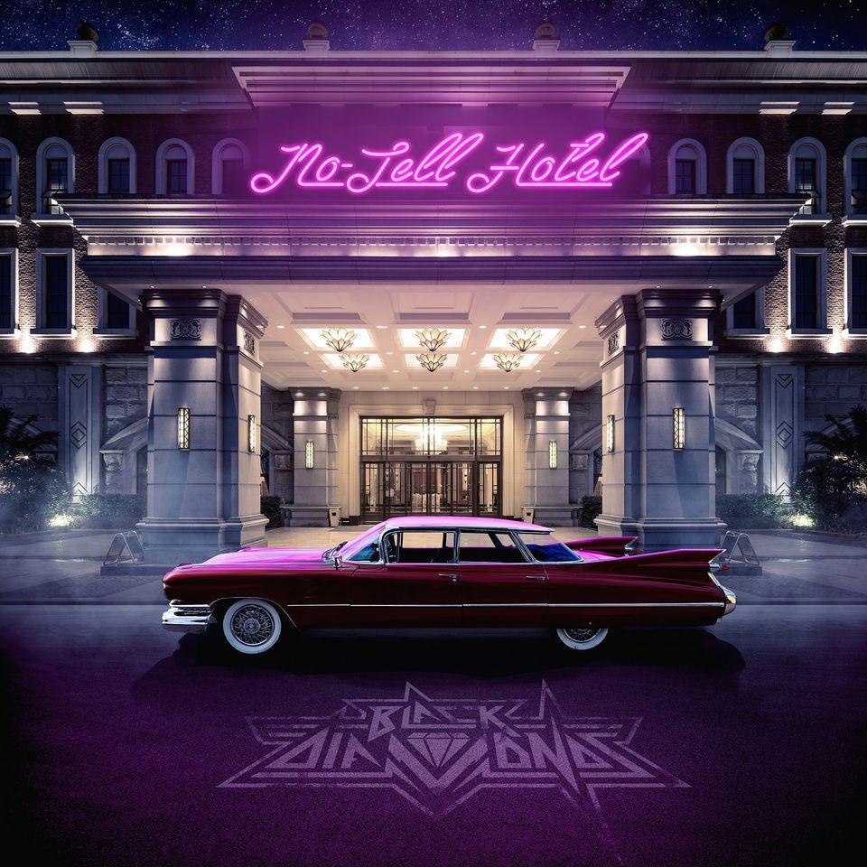BLACK DIAMONDS  (Hard Rock)No-Tell Hotel, à paraître le 12 Mars 2021 Ac229